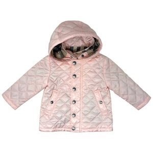 Burberry Girls Detachable Hood Puffer Jacket